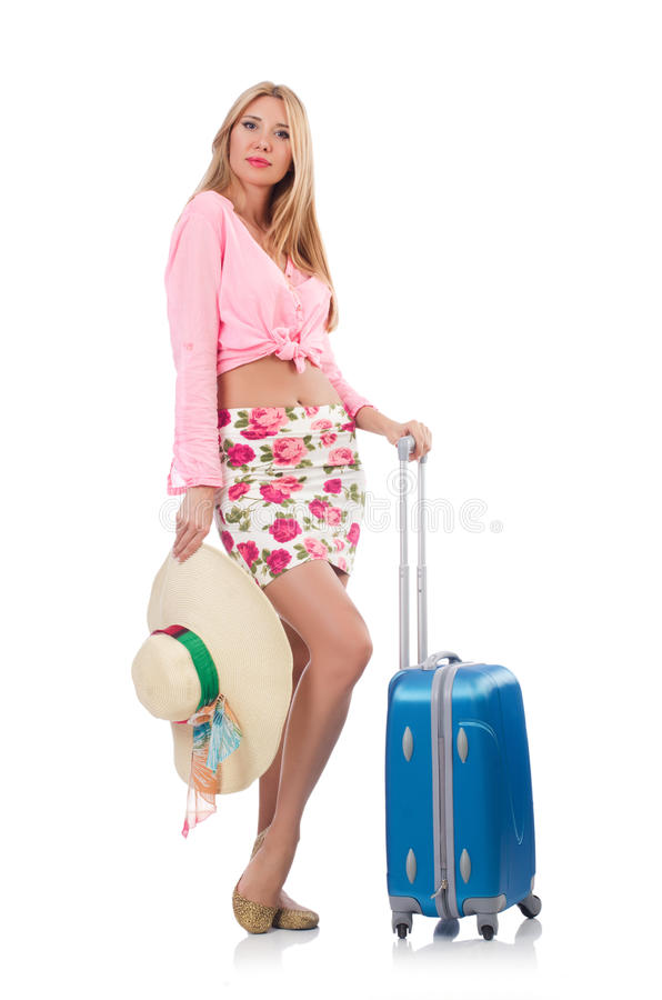 Download Woman preparing stock photo. Image of journey, successful - 34468830