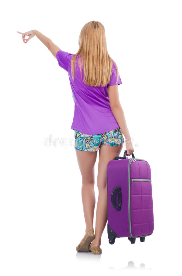 Download Woman preparing for travel stock image. Image of executive - 35811051