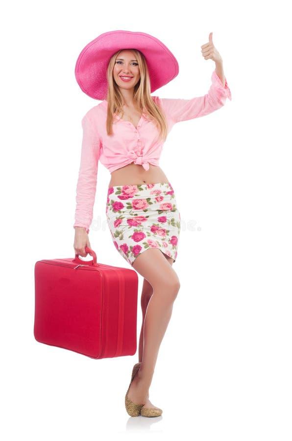 Woman Preparing For Travel Royalty Free Stock Photos