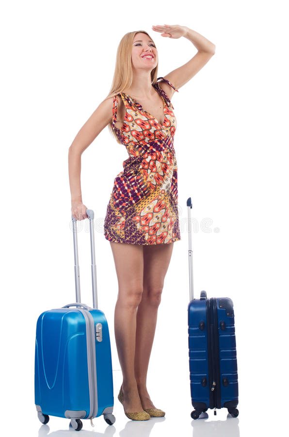 Download Woman preparing for travel stock image. Image of corporate - 36360907