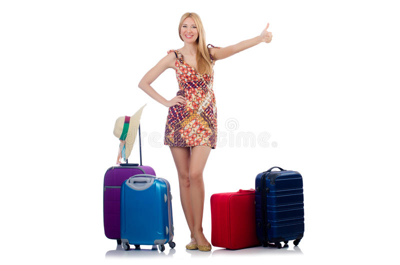Download Woman preparing for travel stock image. Image of handsome - 36361033