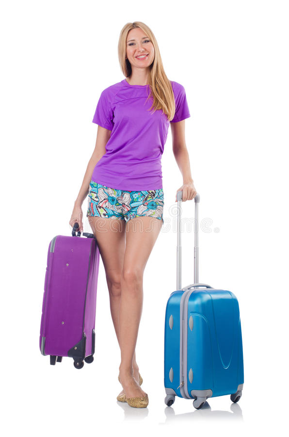 Download Woman preparing for travel stock image. Image of successful - 36960513