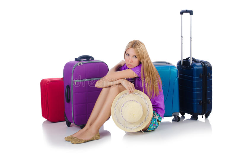Download Woman Preparing For Travel Royalty Free Stock Photos - Image: 36960638