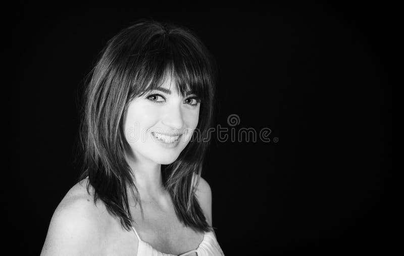 Woman with Professional Hair and Makeup Studio Shoot. Beautiful Woman with Professional Hair and Makeup Studio Shoot stock image