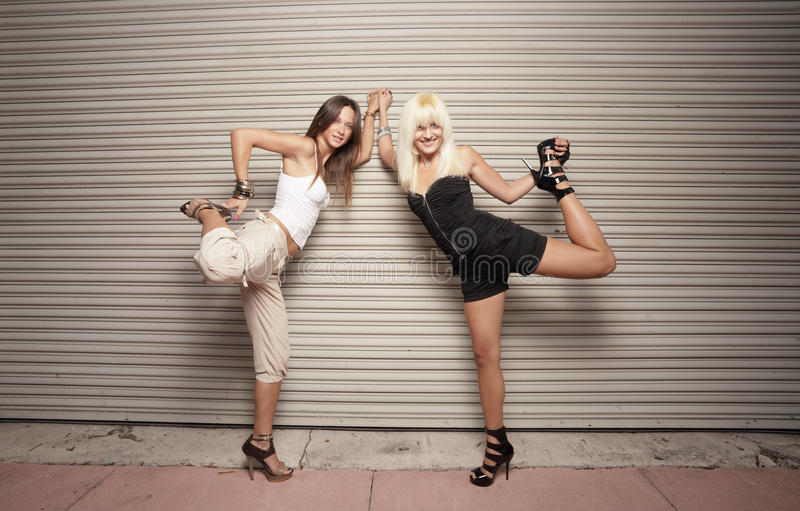 Download Woman Pulling Their Legs Stock Photos - Image: 17049053