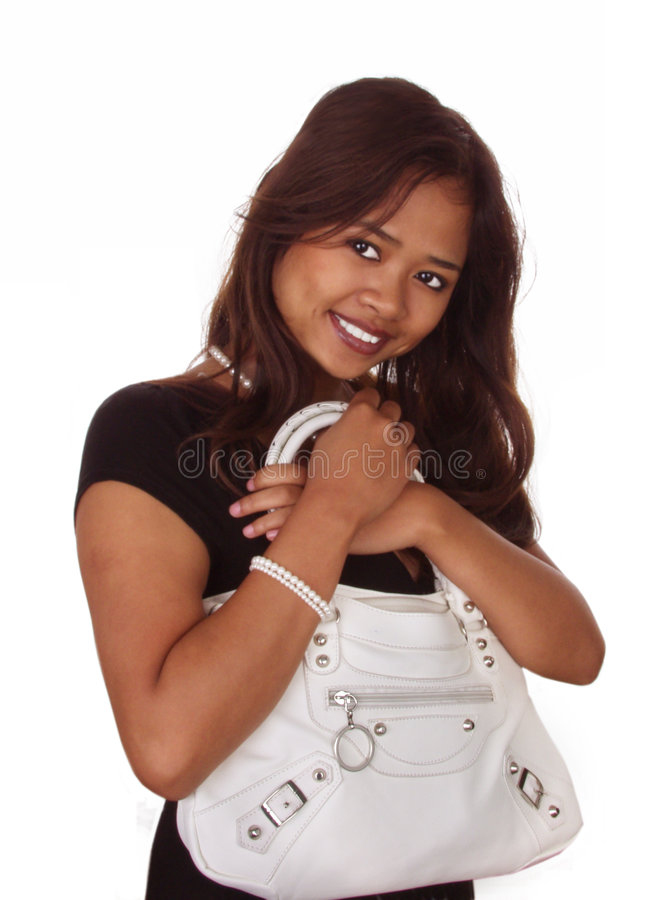 Download Woman With Purse Stock Photo - Image: 2319340