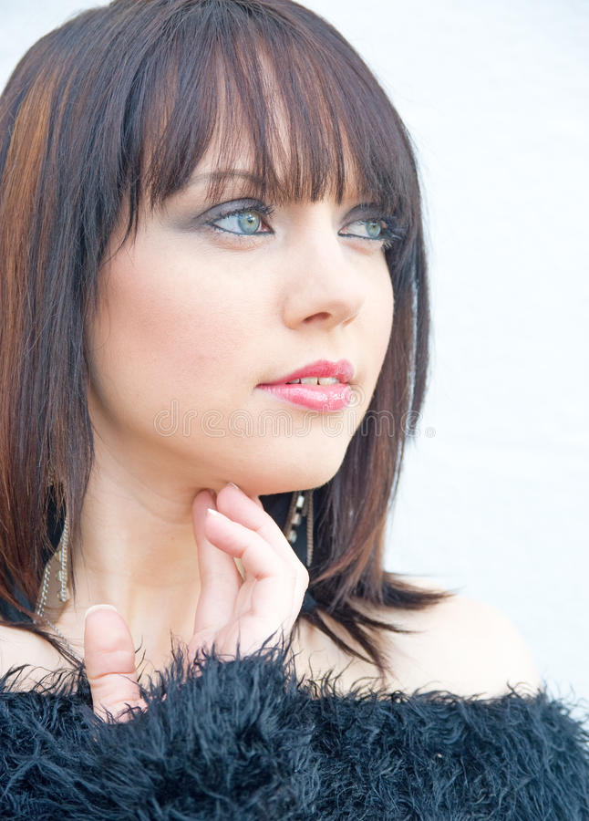 Woman With Puzzled Expression. Royalty Free Stock Photos