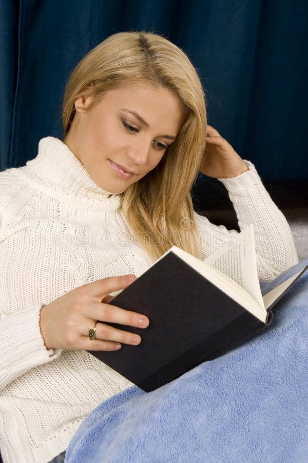 Download Woman reading stock photo. Image of indoors, educate - 11116204
