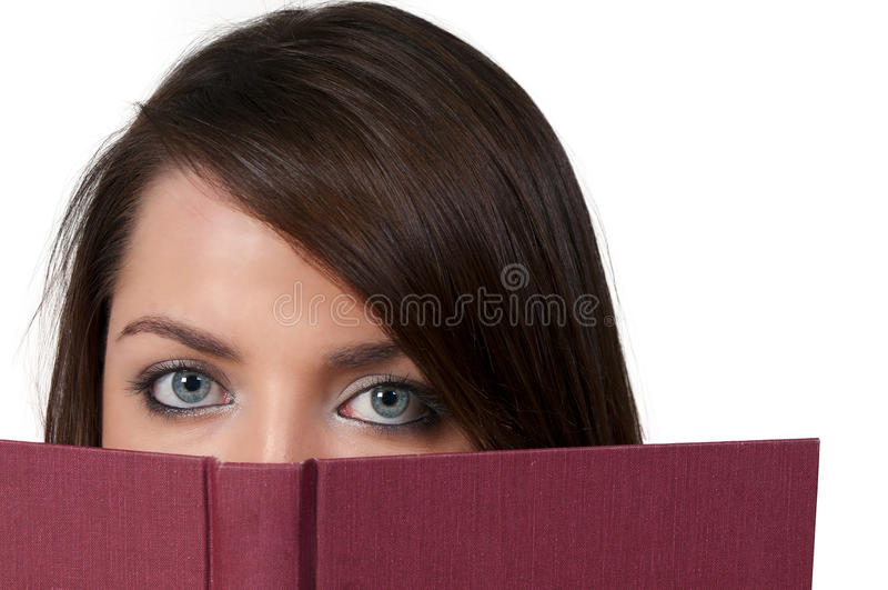 Download Woman Reading a Book stock image. Image of pretty, beautiful - 17360227
