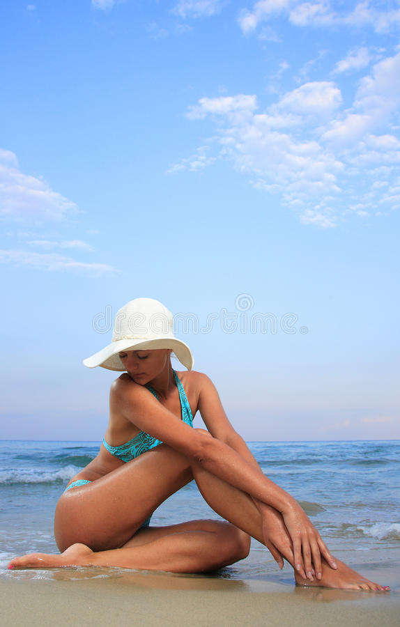 Download Woman Relaxing In The Afternoon Royalty Free Stock Images - Image: 10703949
