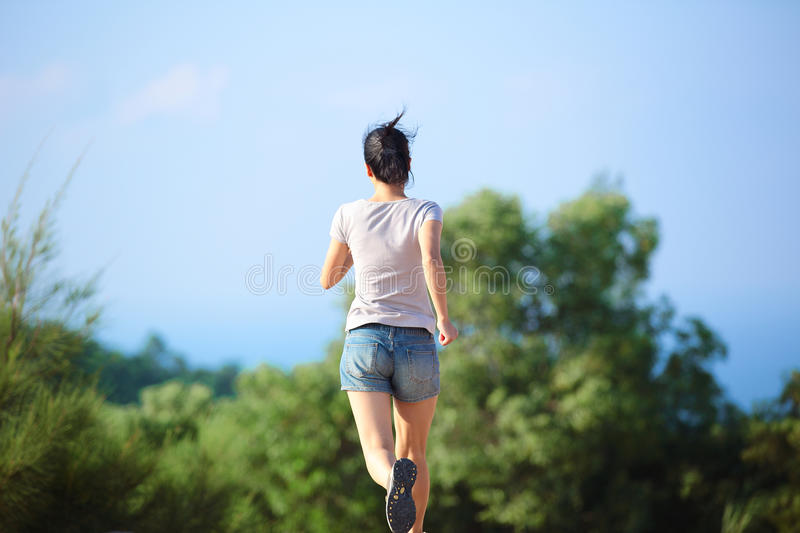Download Woman runner outdoor stock image. Image of competition - 33570085