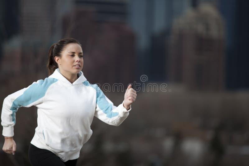 Download Woman Running stock image. Image of success, running - 13951143