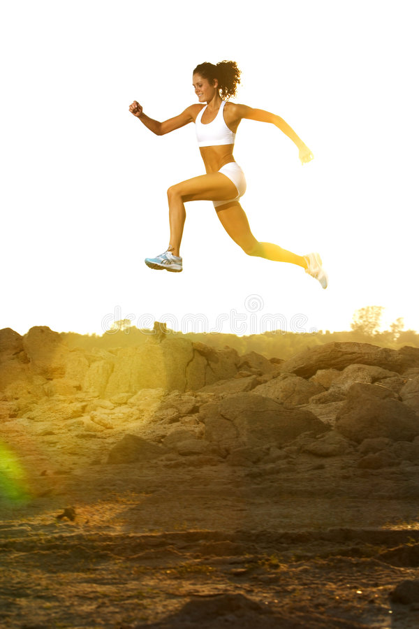 Download Woman Running stock photo. Image of path, leisure, lifestyle - 6312824