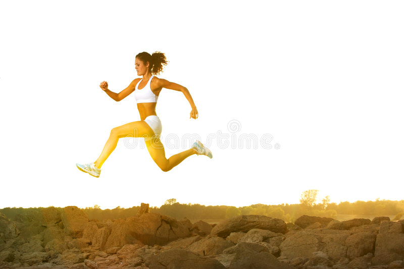 Download Woman Running stock image. Image of athletic, lifestyle - 6312933