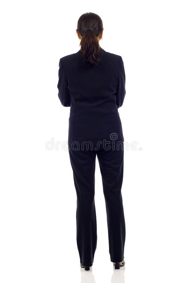 Woman's Back stock image