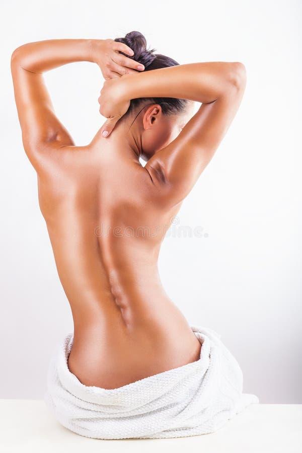 Woman's body stock photo