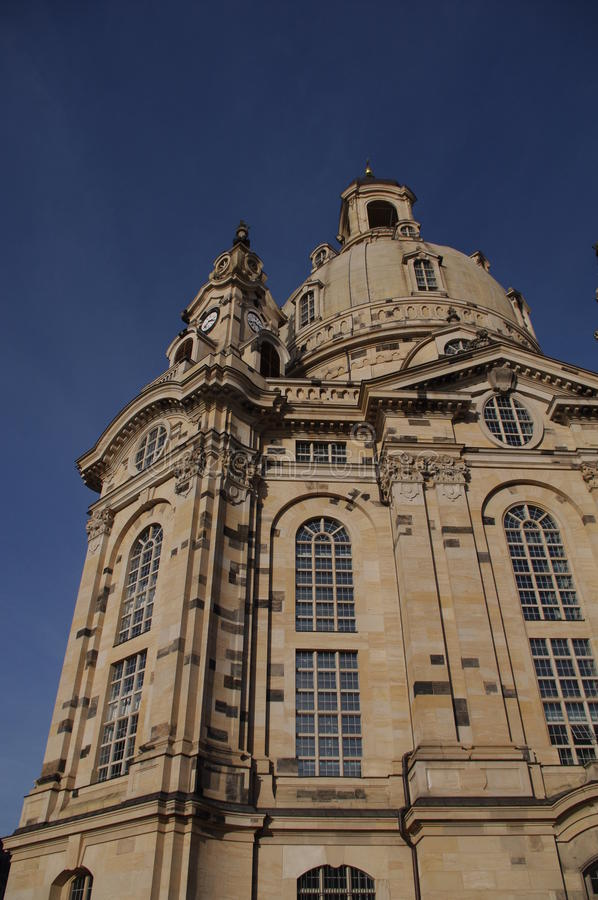 Download Woman´s Church Dresden stock image. Image of blue, corner - 16817331