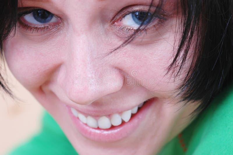 Woman's face royalty free stock photos