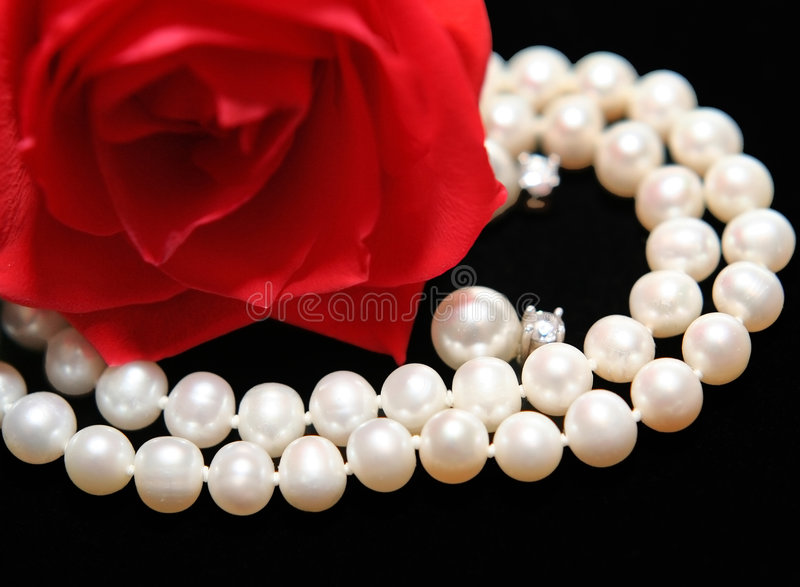 Woman's gift royalty free stock photography
