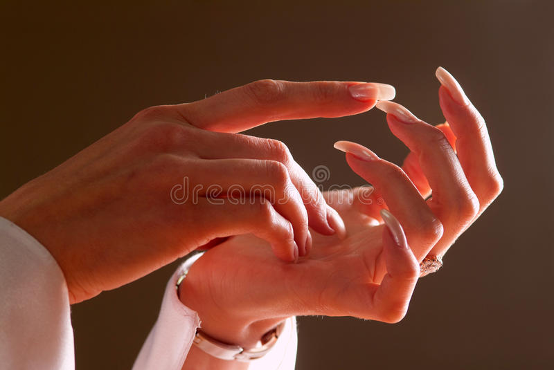 Woman S Hands Royalty Free Stock Image