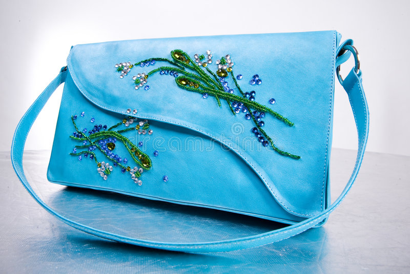 Download Woman's Leather Handbag. Hand Made Stock Photo - Image: 4829258