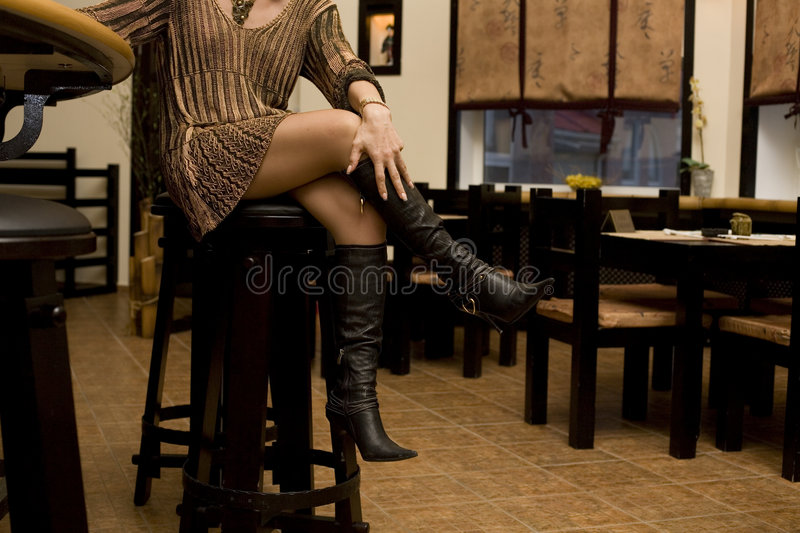 Woman S Legs Royalty Free Stock Photography