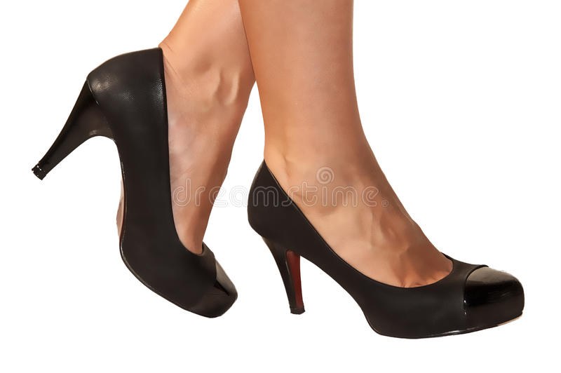 Woman s legs fetish stock images