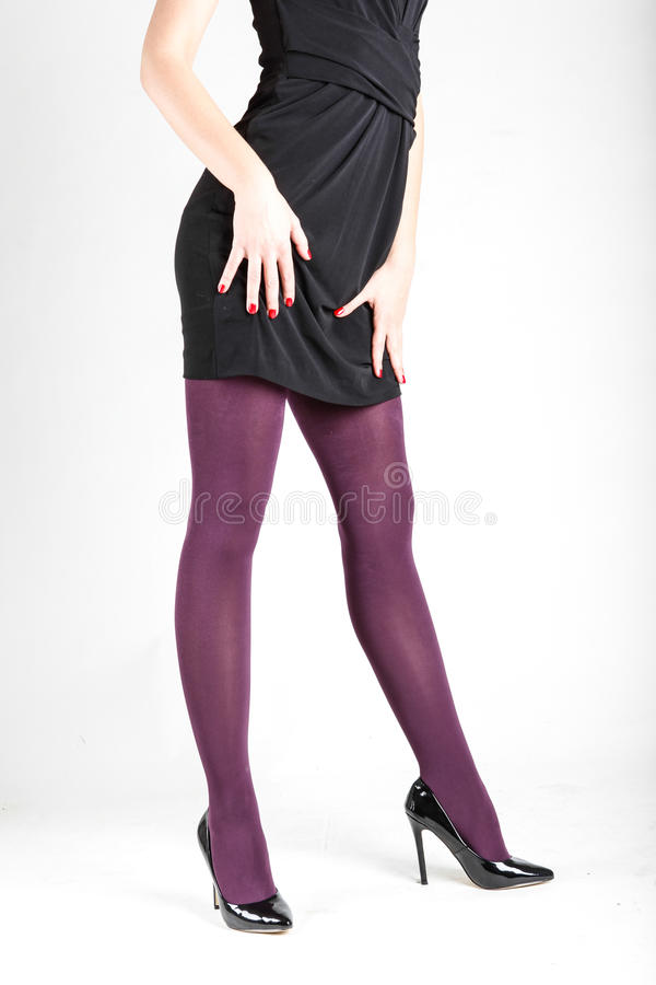 Wearing Pantyhose With