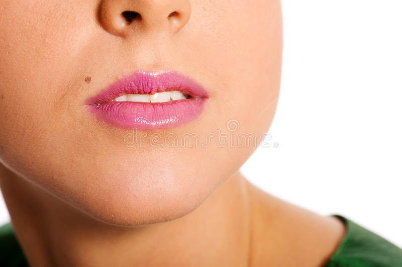 Download Woman's Lips stock photo. Image of elegance, isolated - 17270744