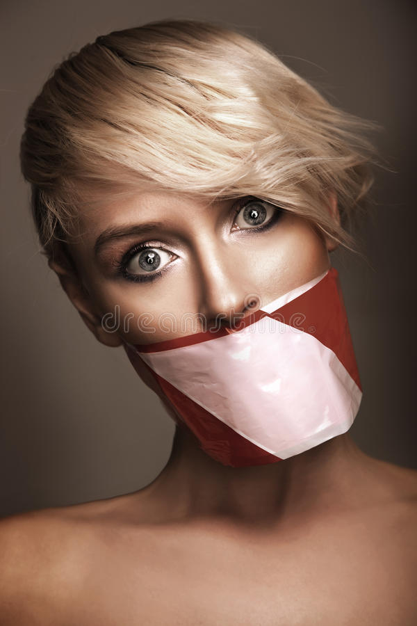 Download Woman's mouth stock image. Image of abstract, people - 18657831