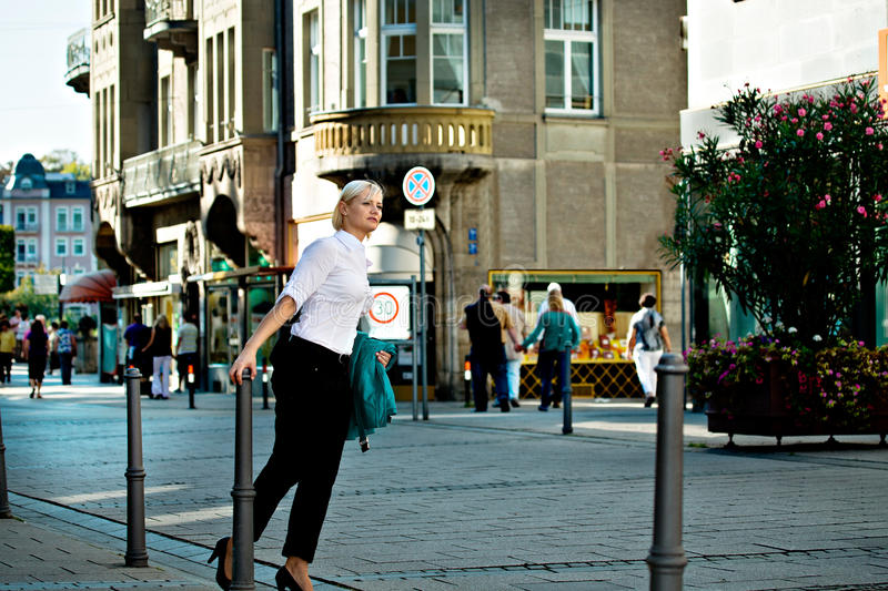 Download Woman's Portrait In The City Stock Images - Image: 22028284