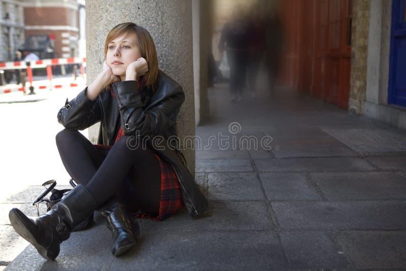 Woman`s problem royalty free stock photo