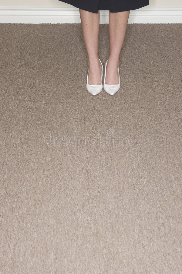 Download Woman's Shoes stock photo. Image of pointed, carpeting - 2383298
