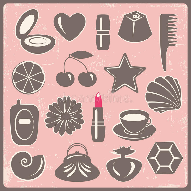 Download Woman's things stock vector. Illustration of illustration - 13204023