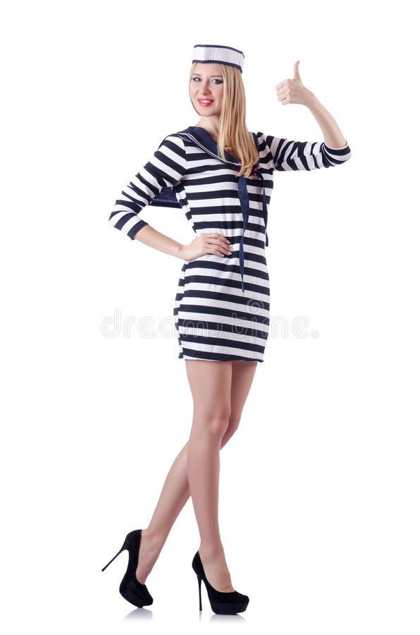 Woman Sailor Stock Images