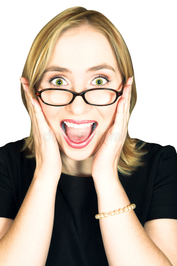 Download Woman screaming stock photo. Image of business, astonishment - 3017606