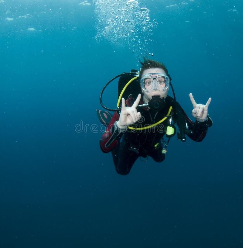 Download Woman scuba diver stock photo. Image of photography, angle - 13069712