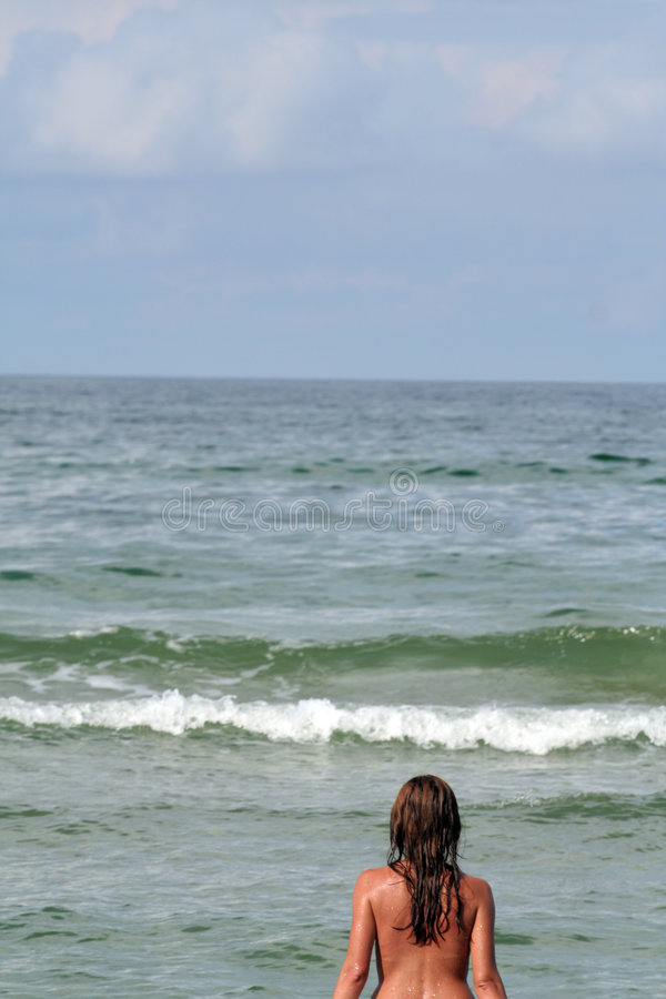 Download Woman In The Sea Royalty Free Stock Photo - Image: 1723295