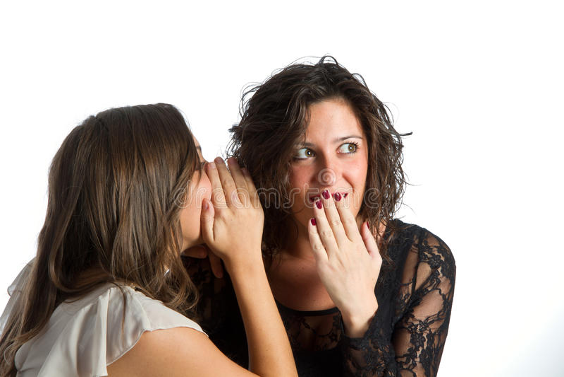 Download Woman secret stock photo. Image of sister, girlfriend - 21891448