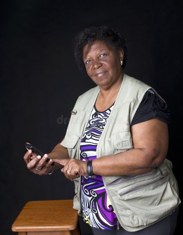 Download Woman Senior African Brazilian Stock Image - Image: 26781197