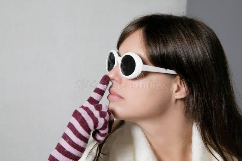 Download Woman sense stock photo. Image of face, sense, look, caucassian - 16143990