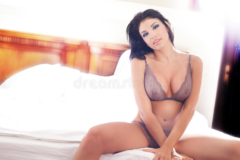 Download Woman With Hot Body In Lingerie Stock Image - Image: 21882751