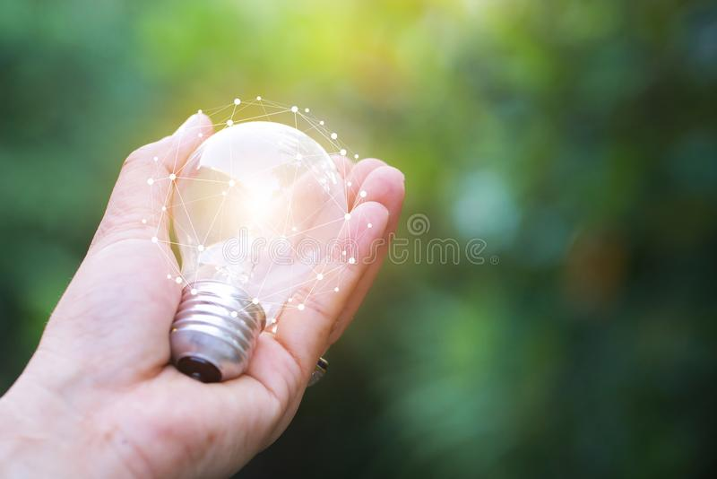 Woman sharing her idea and knowledge stock photos