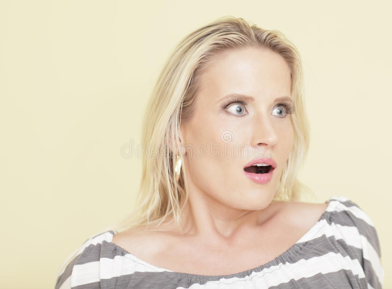 Download Woman in shock stock photo. Image of horizontal, expression - 15480762
