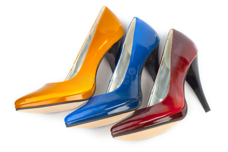 Woman shoe royalty free stock image