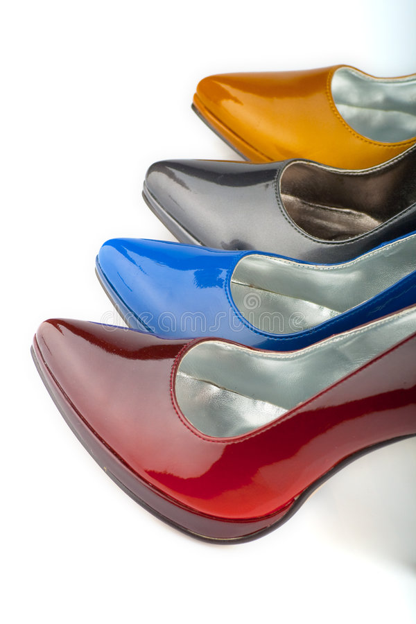 Woman shoe royalty free stock photography