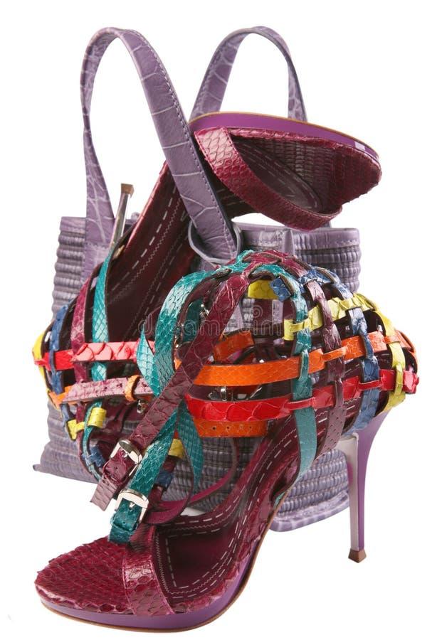 Woman shoe group royalty free stock photo