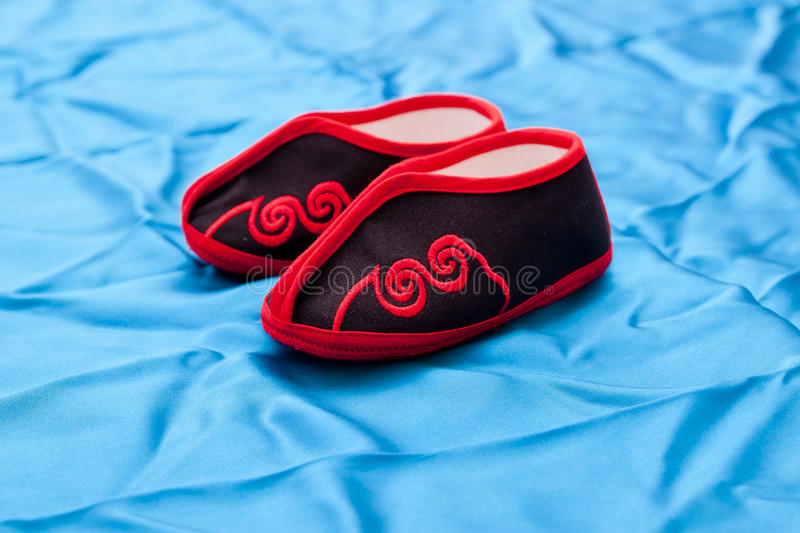 Download Woman shoes stock photo. Image of embroidered, bound - 32288102