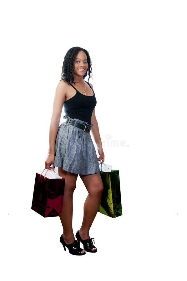 Download Woman Shopping stock photo. Image of customer, black - 15092422
