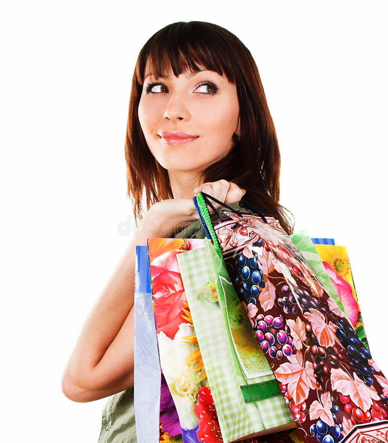 Download Woman after shopping stock photo. Image of customer, spend - 2324954